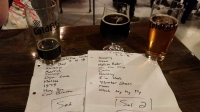 Set list from the gig at ColdFire Brewing. Good brews & good tunes! Thanks all for showing up!